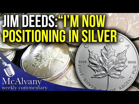 "Position Investor Jim Deeds: "" I'm Now Positioning In Silver "" 