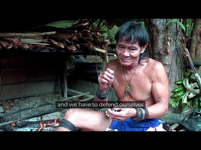 keunikan  suku Borneo Primitive Di Dalam Rimba.(Full Dokumen)