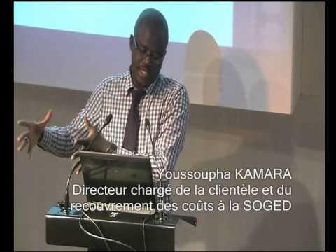 """""""Les composante du coût du service de l'eau"""" (02) Senegal"""