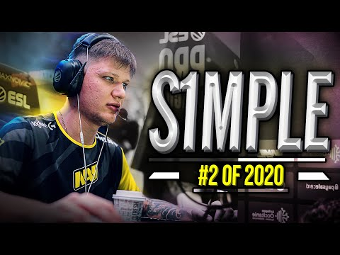 s1mple - 2nd Best Player In The World - HLTV.org's #2 Of 2020 (CS:GO)