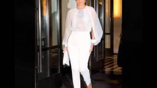 видео Белые женские брюки