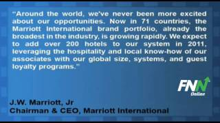 Marriott International Reported In Line Q2 EPS, Missed Revenue Estimates