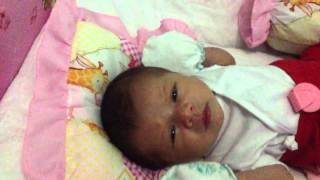 Ooops! I'm Pooping - Baby Elza (Newborn)