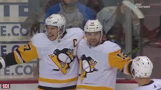 Sidney Crosby - Backhand Goals(2018-19 Season)