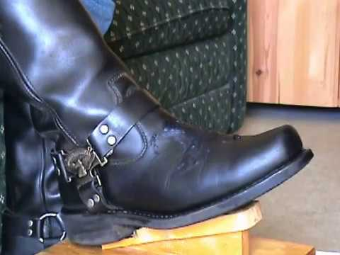Harley Davidson Mega Harness Boots (Partial Audio)