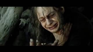 Smeagol transforms into Gollum (The Lord of the Rings- The Return of the King)