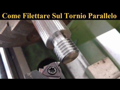 Come Ottenere Un Filetto Lucido Sul Tornio [ How To Thread On A Lathe ]