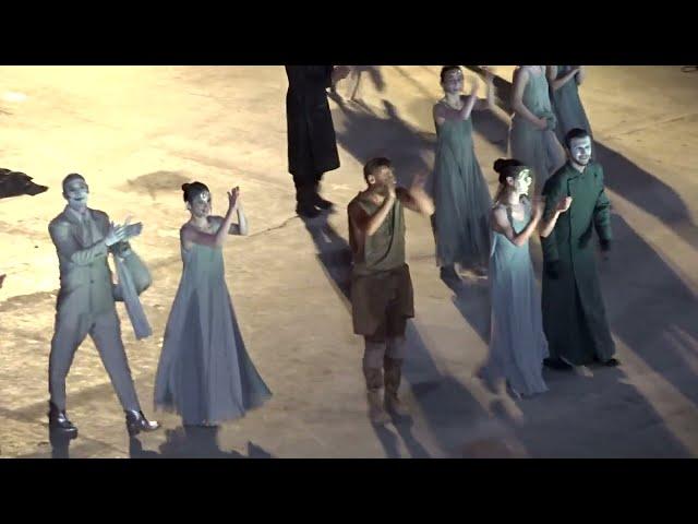 Προμηθέας Δεσμώτης - Γιάννης Στάνκογλου - Θέατρο Πορεία - Χειροκρότημα StellasView.gr
