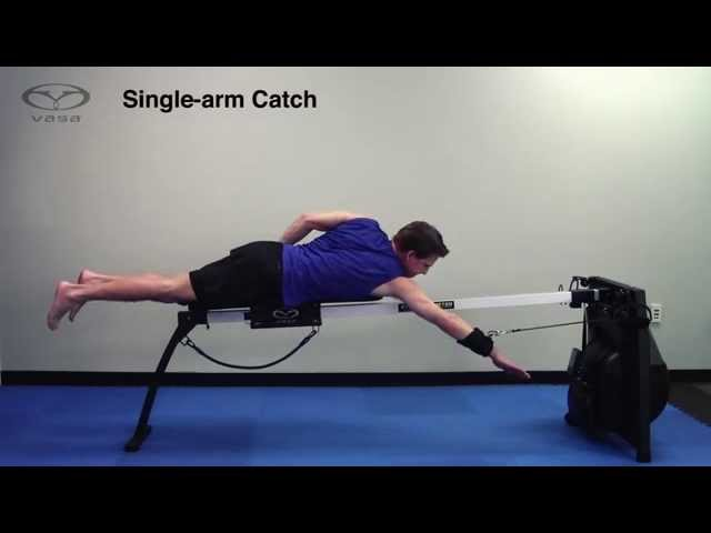 Swim Technique Drill: Single-Arm Catch through Extension