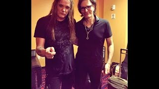 What a complete honor to play with one of my all time heroes, mr. steve vai. i got the invitation from two david lee roth songs him on the...