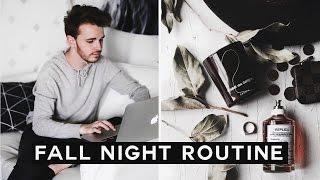 Fall Night Routine 2016 🍃🍂🍁 | Imdrewscott