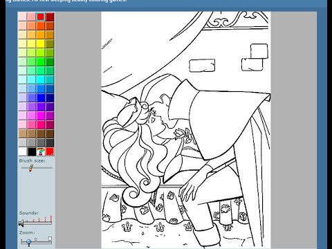 Sleeping Beauty Coloring Pages For Kids Sleeping Beauty Coloring
