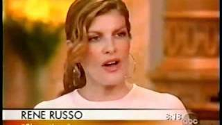 Rene Russo interviewed by Charles Gibson