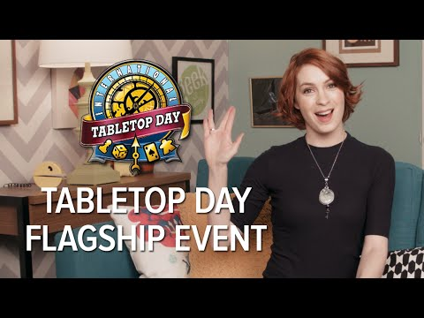 Felicia Day announces our International TableTop Day 2015 event that will take place at the Legendary Sound Stages on April 11th! Tweet at us @TableTopDay ...