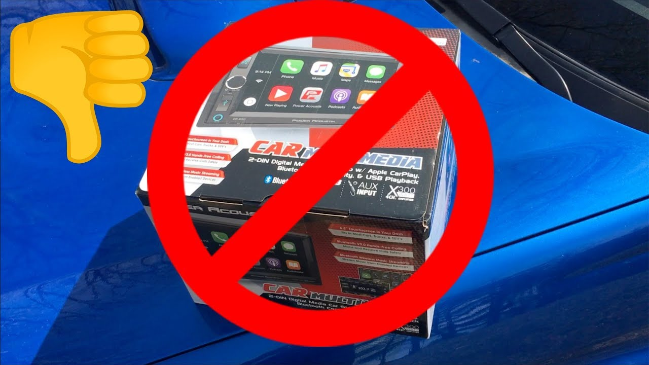 Cheapest NEW Apple CarPlay Headunit  Power Acoustik CP-650 Review
