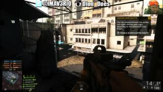 BF4 Multiplayer Gameplay - HOLDING MY OWN | Battlefield 4 Squad Deathmatch Gameplay
