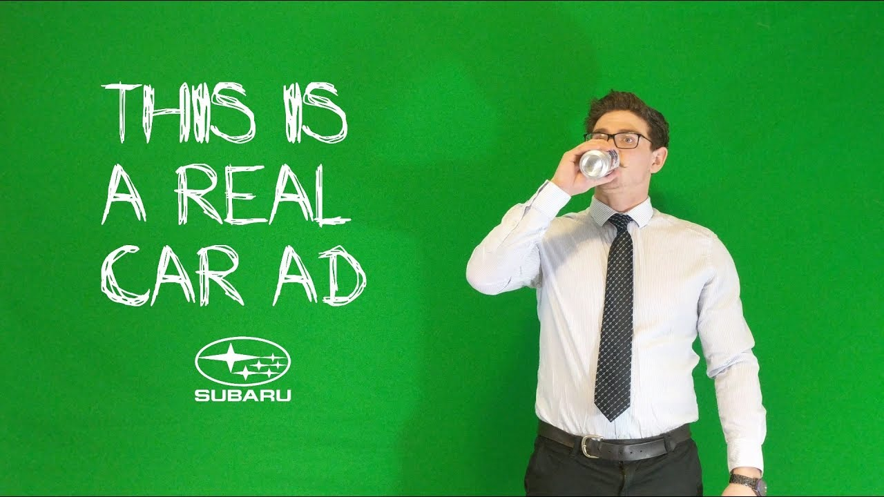 This Hilarious Used Subaru WRX Ad Is a Surreal Sendup of