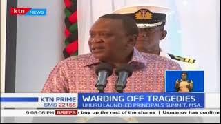 President Uhuru Kenyatta urged teachers not to allow students to travel past 6pm