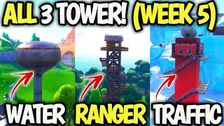 'Dance on top of a Water Tower, Ranger Tower and an Air Traffic Control Tower' Fortnite Week 5 Guide