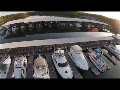 Quadcopter Creates a Bird's Eye View -- Kentucky Dam Marina