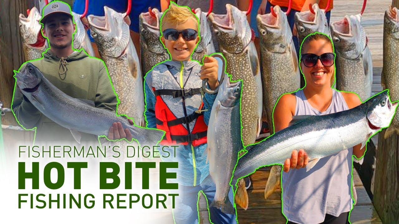 Lake Erie Perch Reports, Traverse City, & More!! - Hot Bite Fishing Report - July 28