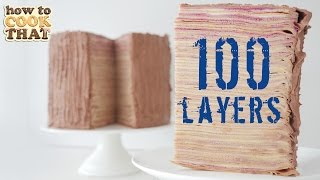100 LAYERS OF CAKE How To Cook That Ann Reardon 100 layers crepe cake