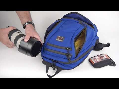 Carrying Photographic Equipment in the Tom Bihn Synapse Backpack