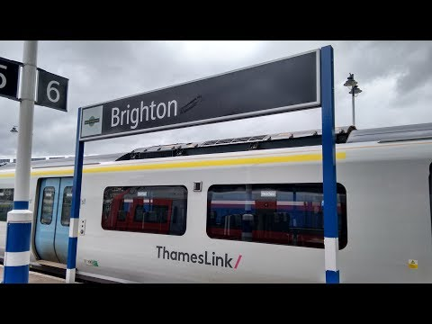 Full Journey on Thameslink (Class 700) from Bedford to Brighton