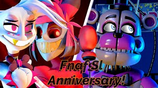 [FNAF/HazbinHotel/SFM] Why Do You Have Such A Annoying Voice [FNAF SL 4th Anniversary!]