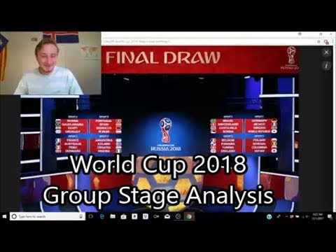 2018 World Cup Group Stage Draw Breakdown (Plus Predictions)