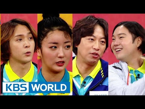 Cool Kiz on the Block | 우리동네 예체능 - Celebrity Ping Pong King, part 1 (2016.03.08)