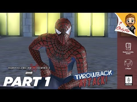 Spider-Man 2 (Game) Part 1 | BRUCE CAMPBELL & THE BOYS (Throwback Attack)