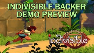 Indivisible Backer Exclusive Demo Playthrough (Quick Play)
