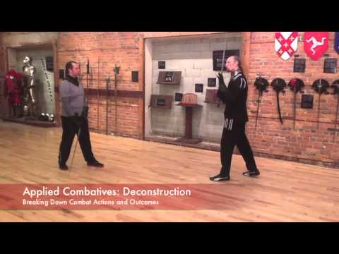 Applied Combatives - Deconstruction-Reconstruction - Longsword