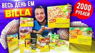 Весь день ем продукты BILLA для богатых