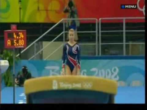 Alicia Sacramone's 2008 Beijing Olympic Finals: Vault