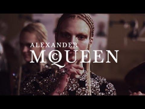 Alexander McQueen | Autumn/Winter 2014 | Backstage Film