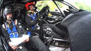 Rally Rzeszow 2017 - Østberg Vs Steering Wheel
