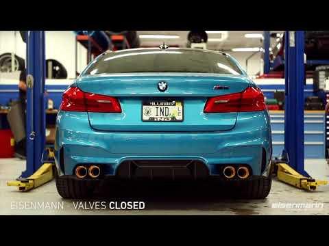 BMW S63TU M5 F90 Exhaust Comparison REMUS / AKRAPOVIC / Armytrix / Capristo / Dinan / Eisnmann / RPI