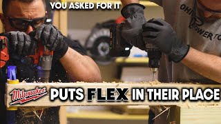MILWAUKEE Tool Finally Puts FLEX Tools IN THEIR PLACE! (You WANTED This)