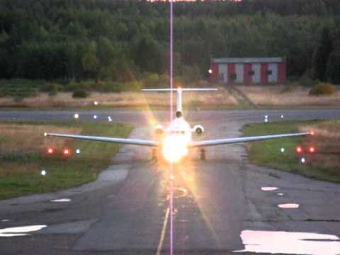 Як-40 посадка, Котлас (ULKK)