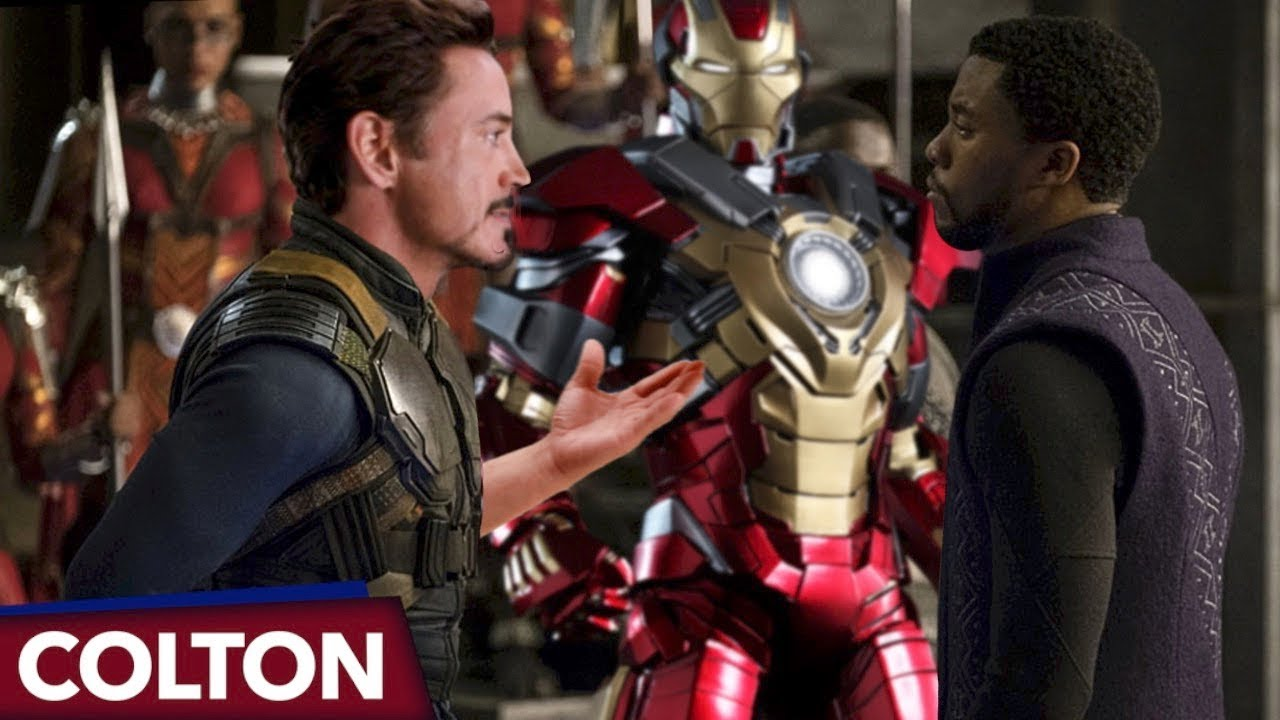 Is Tony S New Iron Man Suit Made Of Vibranium In Avengers Infinity