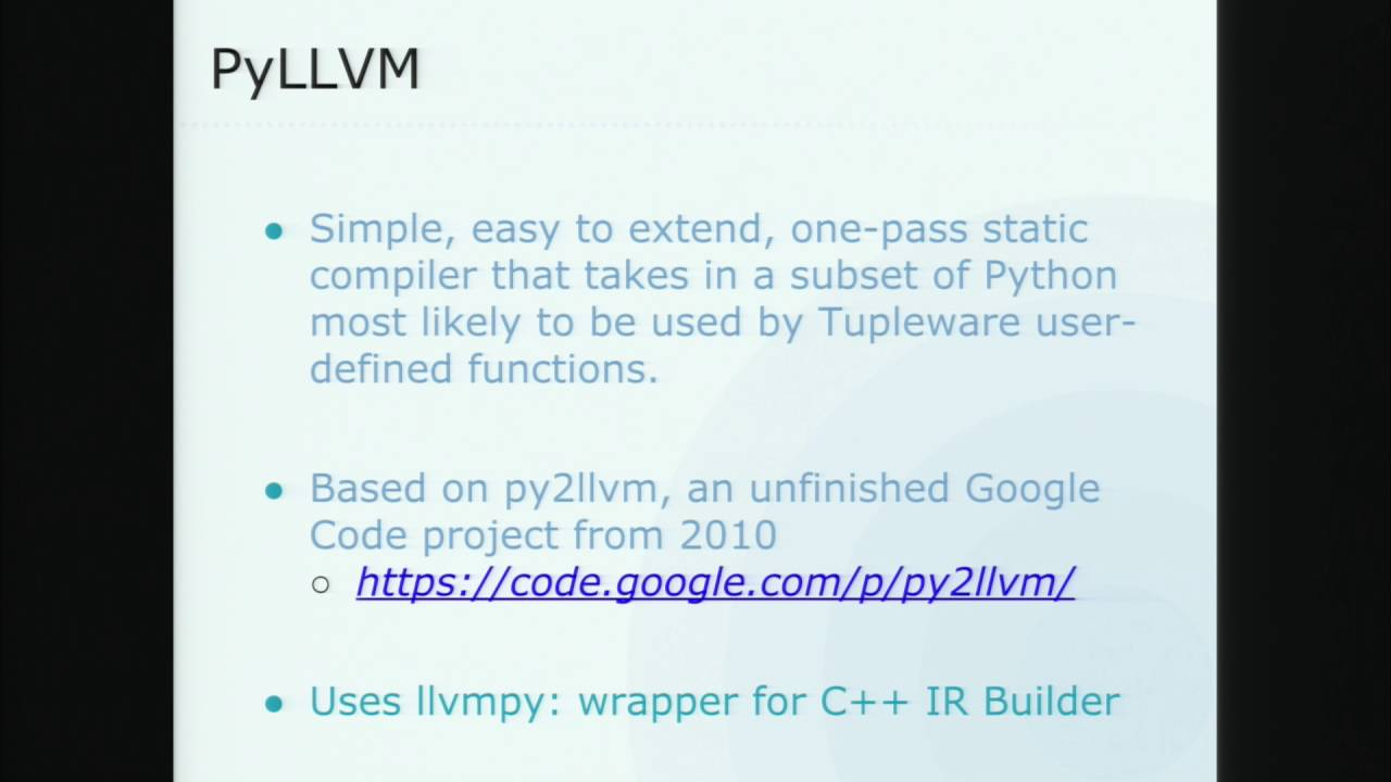 Image from Wrestling Python into LLVM Intermediate Representation