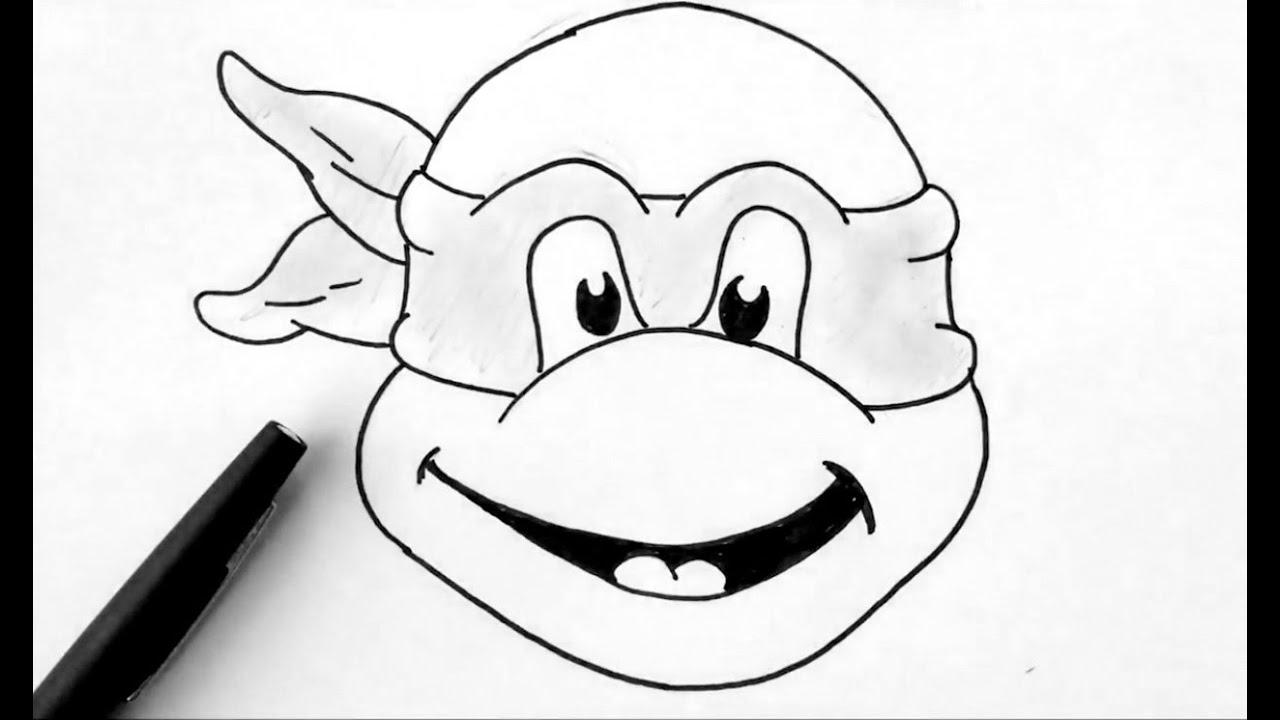 Comment dessiner une tortue ninja youtube - Dessin anime des tortues ninja ...