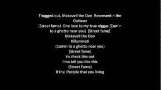 Tupac - Street Fame with lyrics