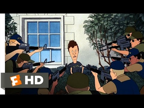 Beavis and Butt-Head Do America (2/10) Movie CLIP - At the White House (1996) HD