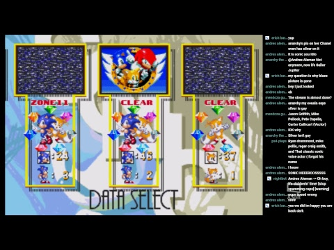Sonic 3 and Knuckles 100% (Sonic) (1080HD 60FPS)