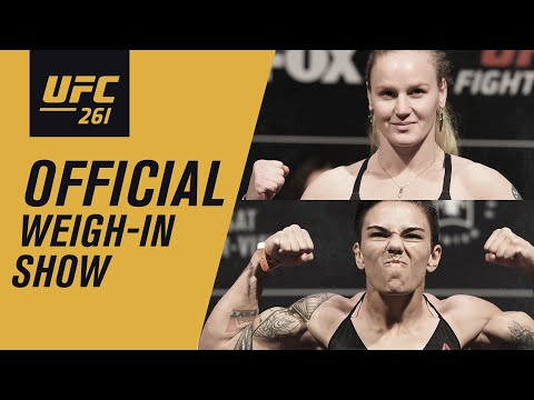 UFC 261: Official Weigh-in Show