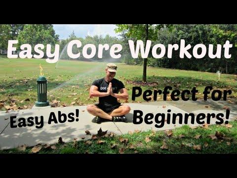 8 min Beginner Core Workout Sean Vigue