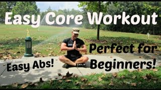Easy Core Exercises for Beginners - Simple 8 min Ab Workout